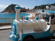 Tourist Train in Tossa de Mar, Ajuntament Tossa de Mar