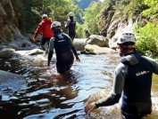 Canyoning in Ribes de Freser, Abigail King