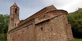 Photo of Church of the old monastery of Sant Joan les Fonts in Sant Joan les Fonts
