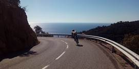 Photo of Cycling in Costa Brava in Blanes