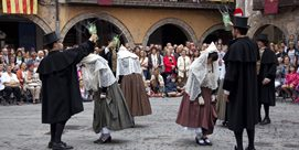Photo of Dance of the Pabordes in Sant Joan de les Abadesses