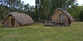 Photo of Neolithic settlement of La Draga in Banyoles