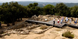 Photo of Iberian Settlement of Puig Castellet in Lloret de Mar