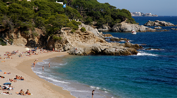 Photo of Cala Rovira in Platja d'Aro (Castell-Platja d'Aro)