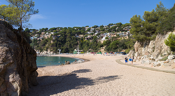 Photo of Platja de Canyelles in Lloret de Mar