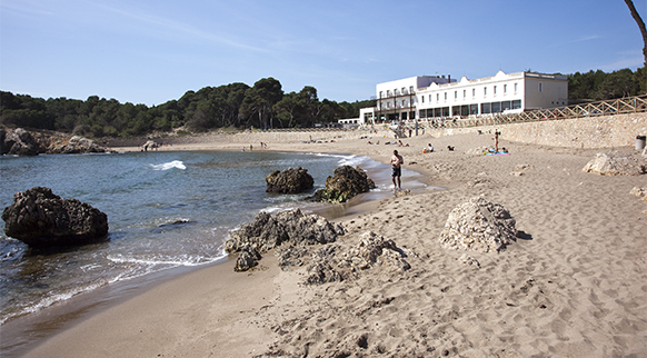 Photo of Platja del Portitxol in L'Escala