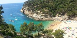 Photo of Cala Pola in Tossa de Mar